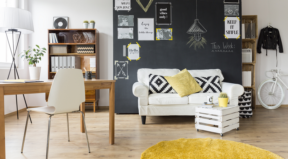 Yellow Student Property Interior